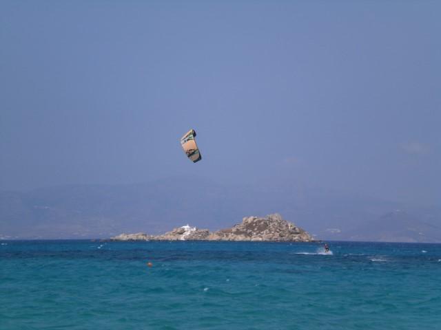 Naxos kitesurfen