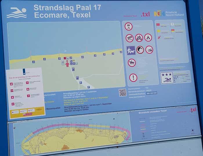 Kitespot Texel Paal 17 – Paal 19